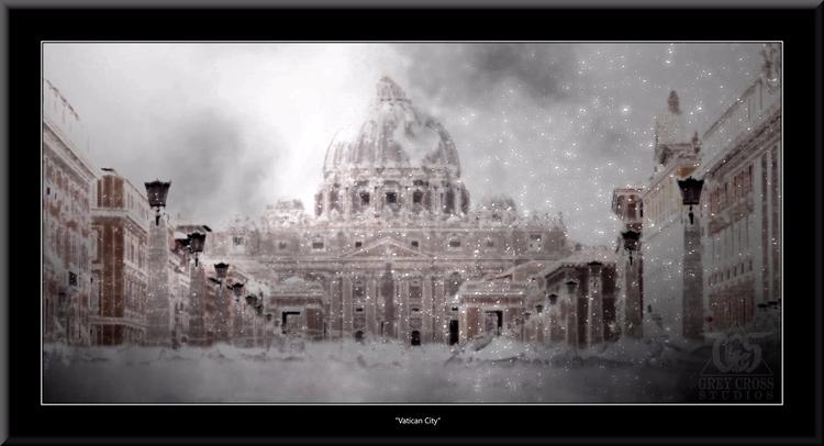 pieces created apocalypse serie - greycrossstudios | ello
