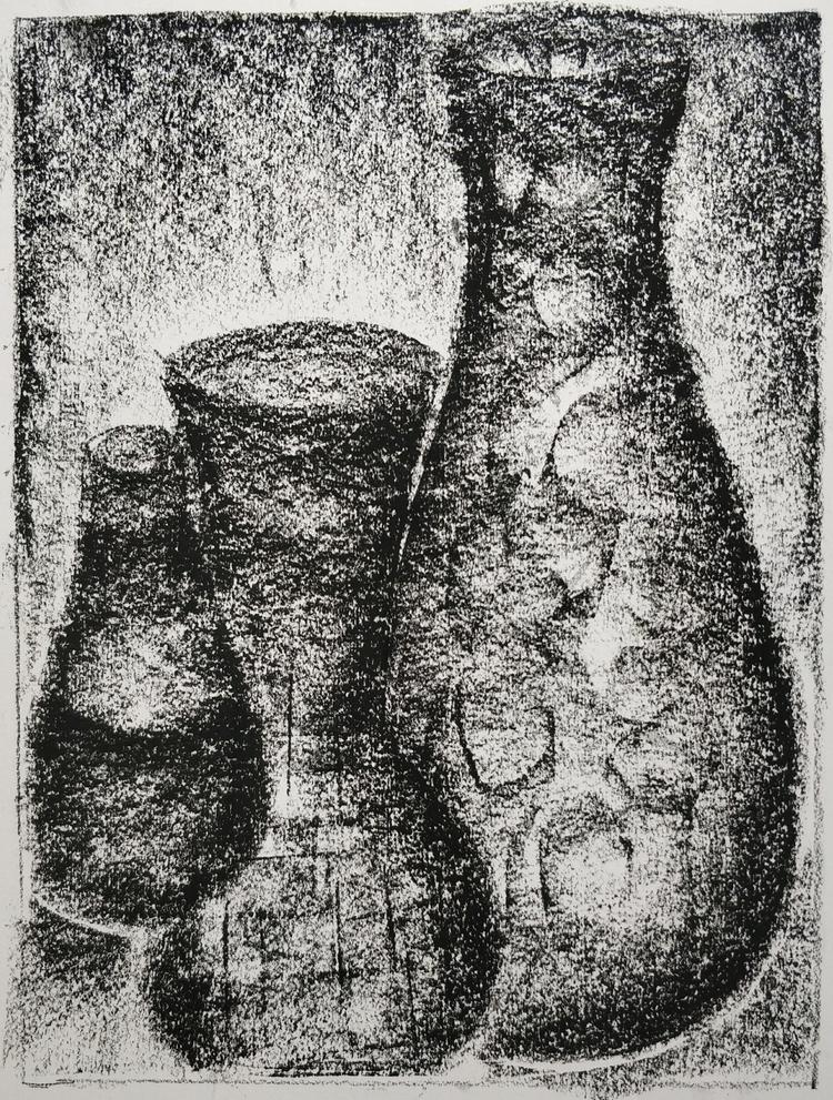 charcoal, stilllife, artclass - flick22 | ello
