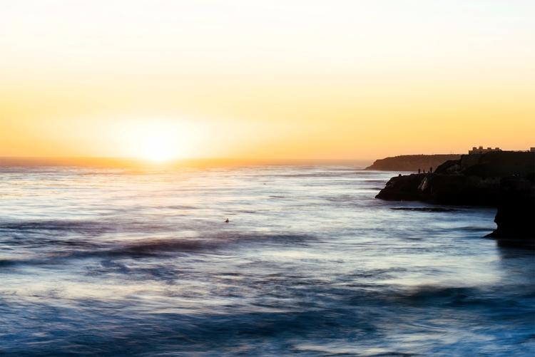 Santa Cruz, CA - landscape, surf - neonicecream | ello