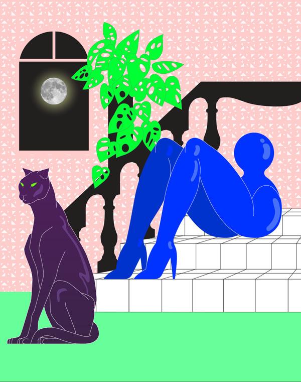 Psychogeography - art, illustration - vanniapalacio | ello