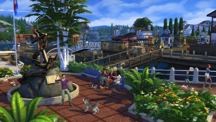 EA Maxis Launch Sims 4 Games Mo - comicbuzz | ello