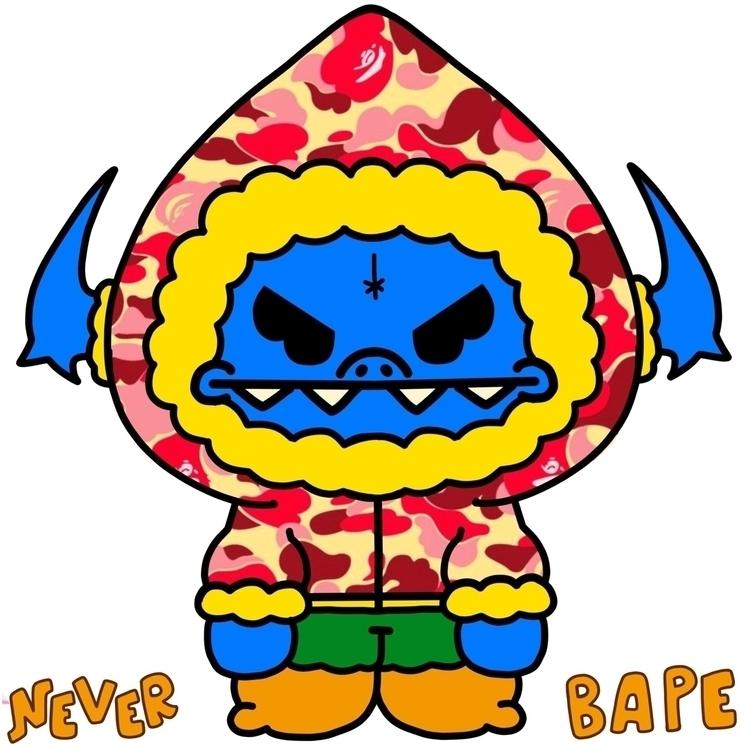 Neverbore Neverbrute Bape Milo - thatredkid | ello