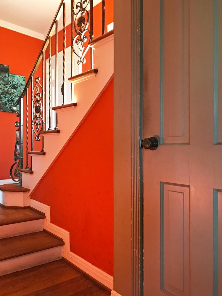 Orange Staircase, Moreno Dr, Si - odouglas | ello