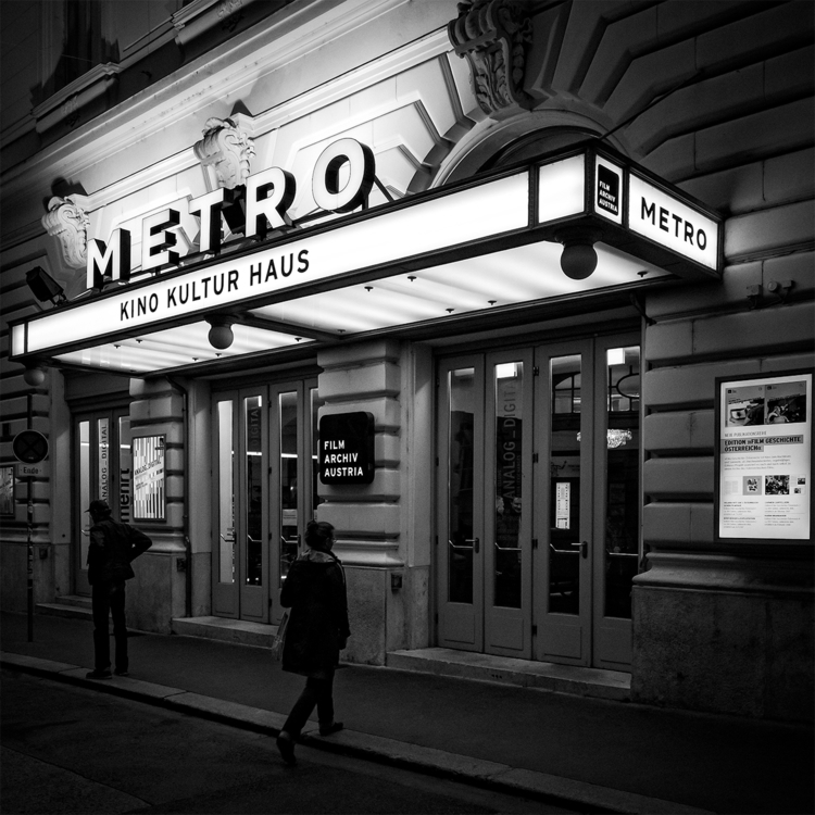Metro Cinema (Vienna) theatre r - stephanepictures | ello