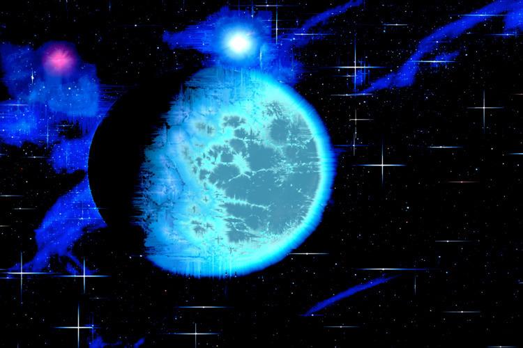 space outer - digitalart, abstract - jazer | ello