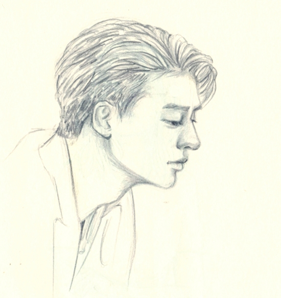 hair - doodle, drawing, sketch, sketchbook - j0eyg1rl | ello