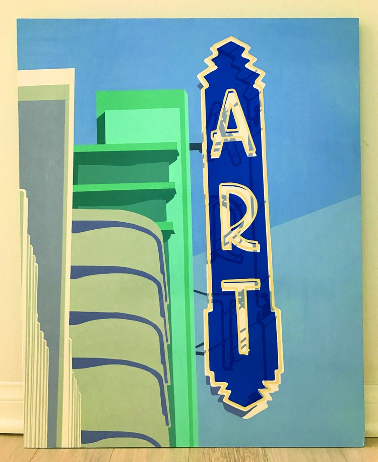 Art Theater 4th Street Long Bea - angela_oliver_art   ello