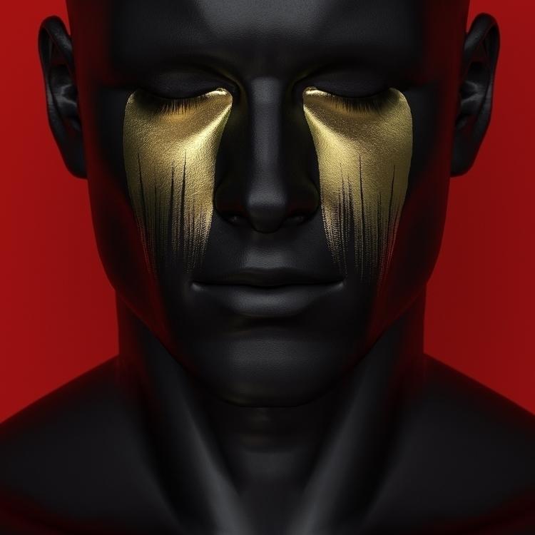 Larmes Dorées - 3D, Digital, Art - z3rogravity   ello