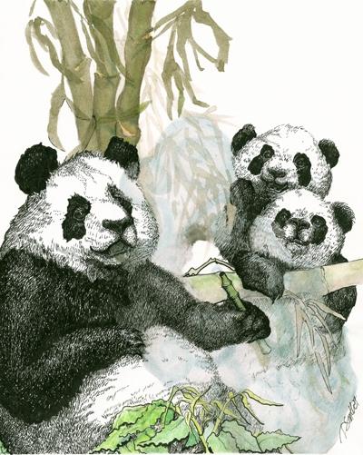 panda vaping - smithycat   ello