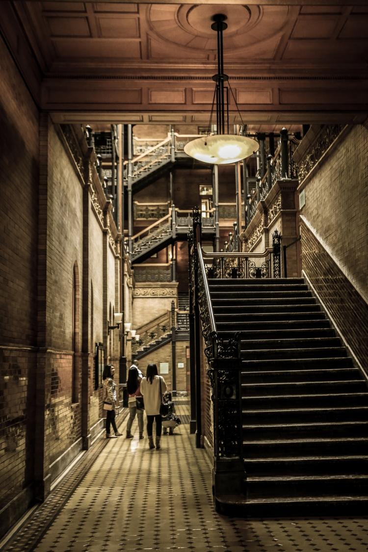 Bradbury Building Angeles - DTLA - miata888david | ello