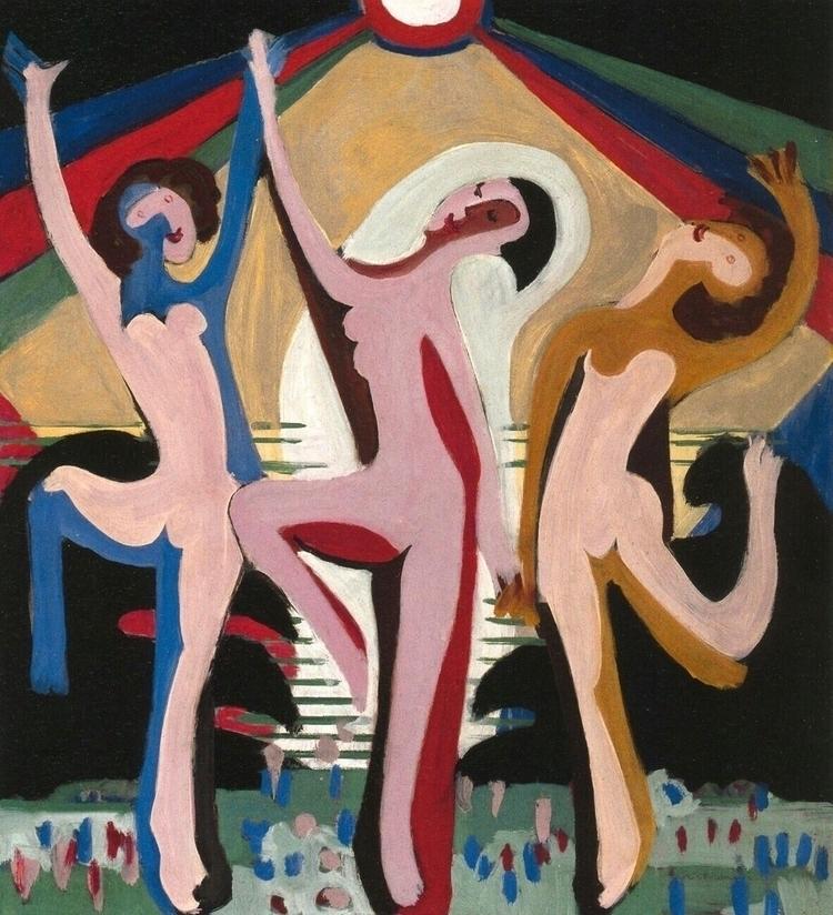 Colorful Dance Ernst Ludwig Kir - bitfactory | ello