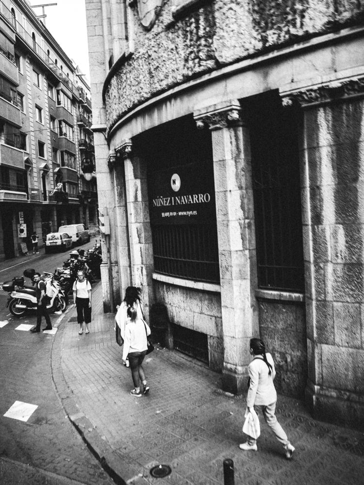 barcelona, blackandwhite, street - deanmcleod | ello