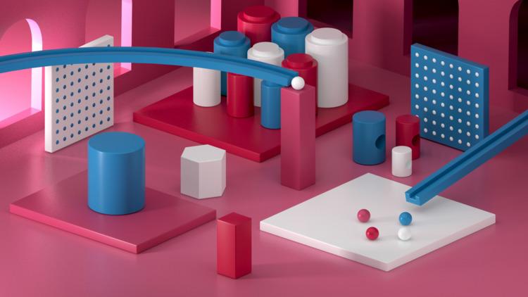 066 - AbstractShiz, cinema4d, design - hashmukh | ello