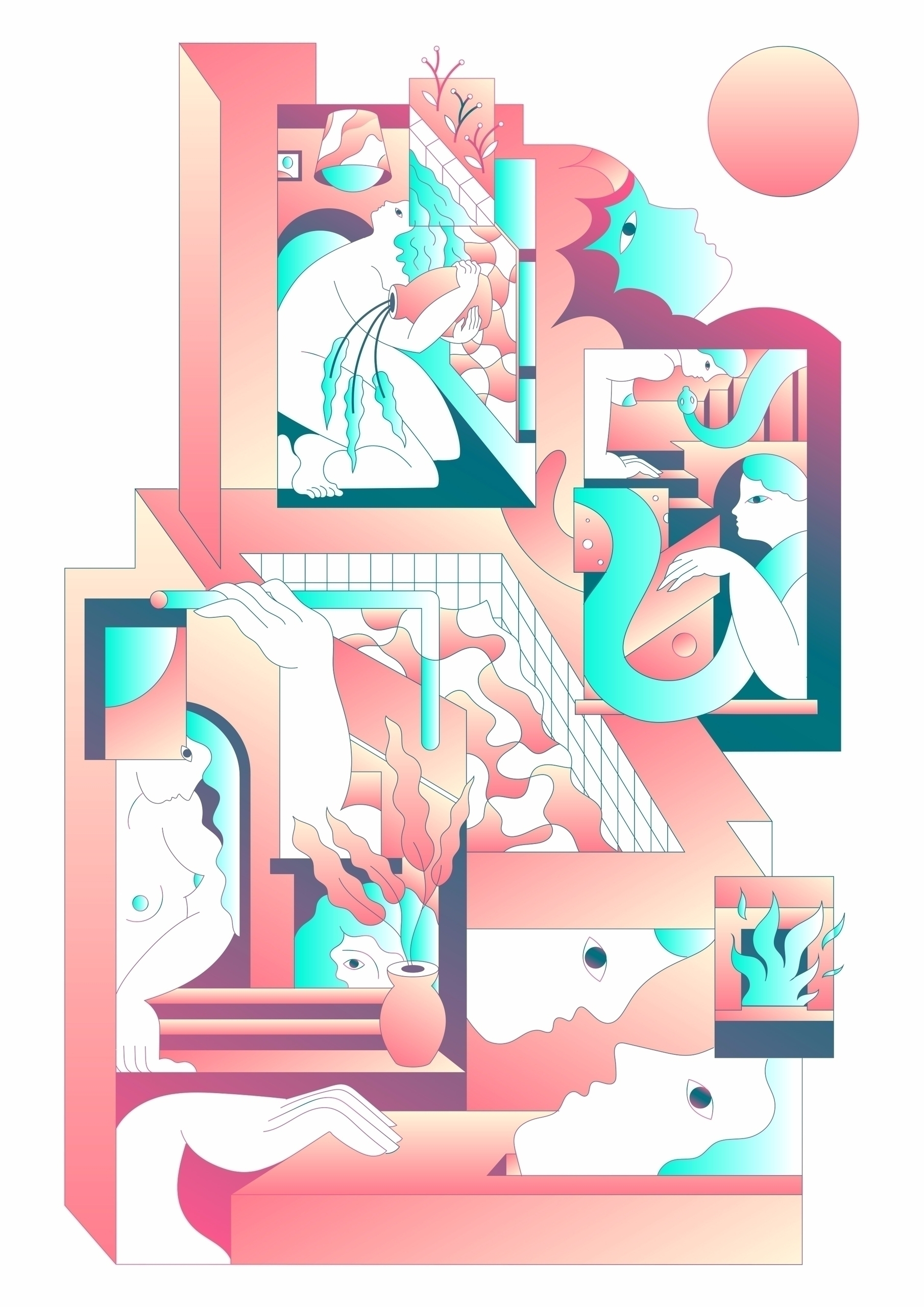 Home - illustration, print, poster - julien_brogard | ello