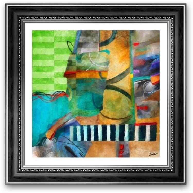 World Music Gina Startup - painting - ginastartup | ello