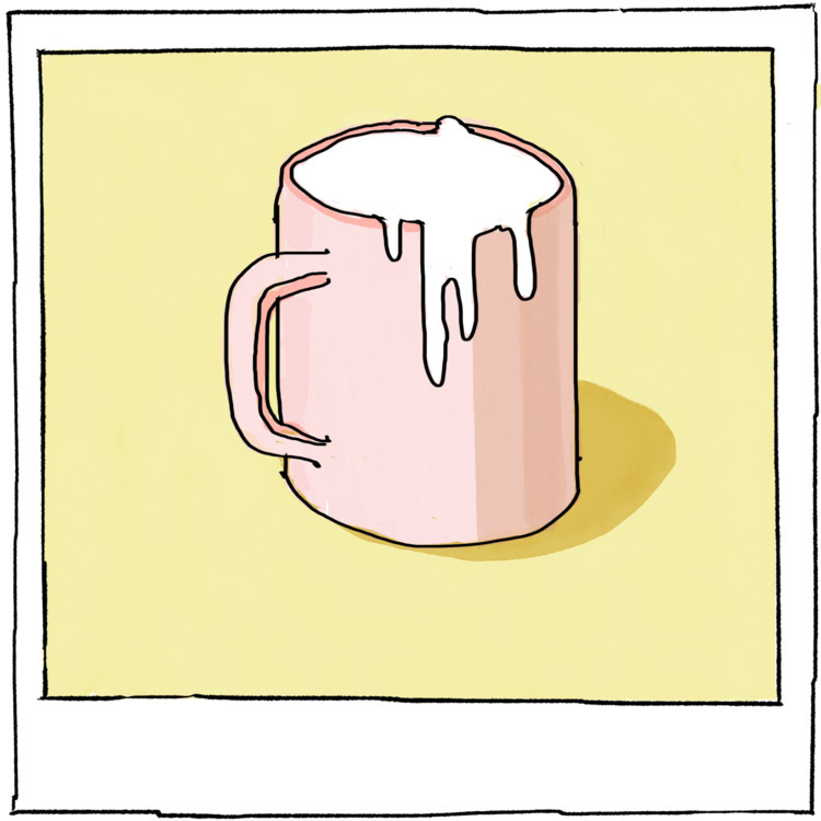 STICKY MUG - fineart, artist, art - agency | ello