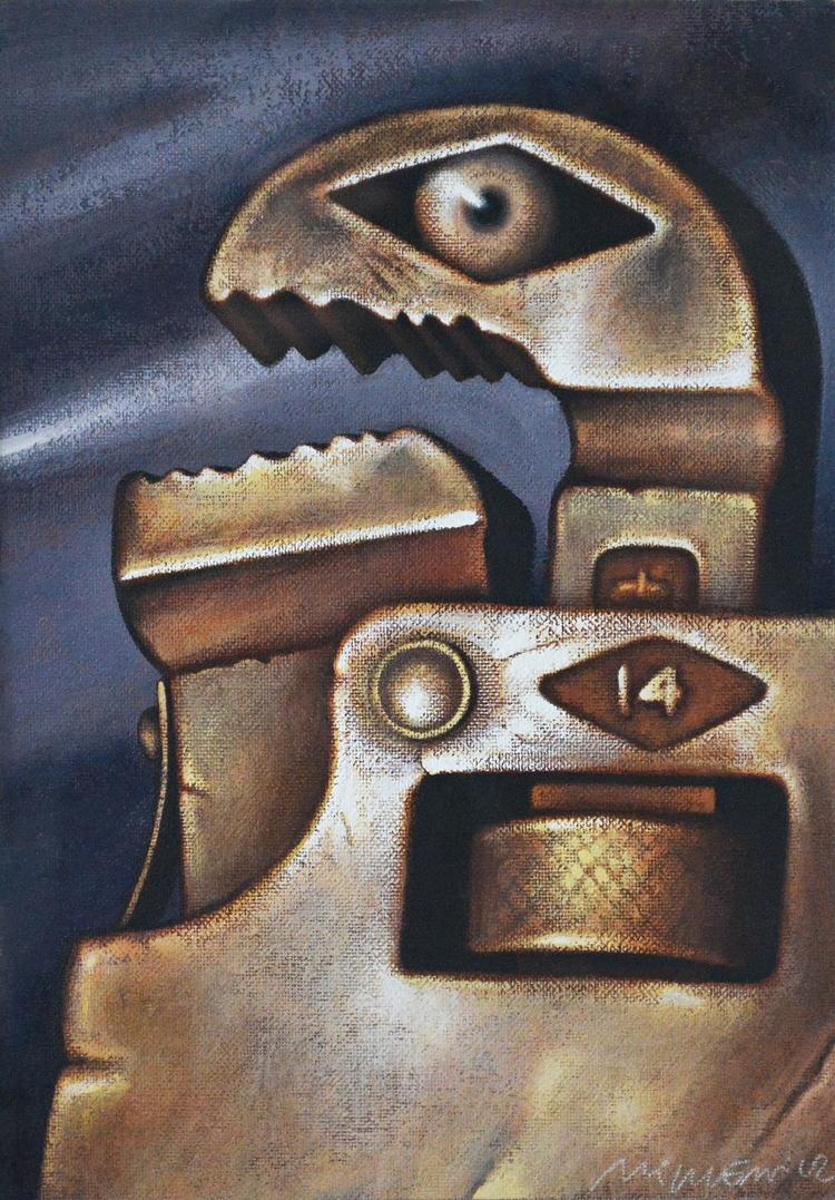 WRENCH / acrylic canvas - adamniklewicz | ello