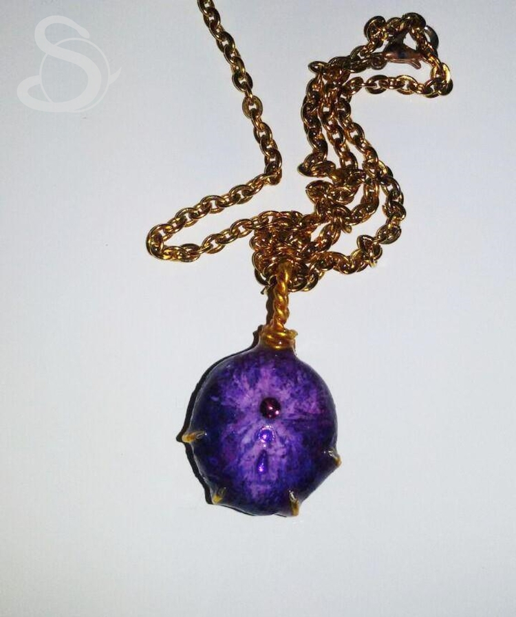 magic stone pendant, personal f - stolen_from_the_sea | ello