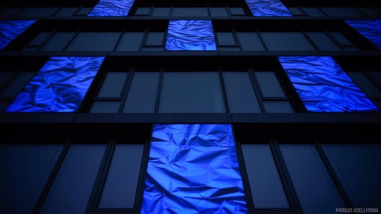Hyacinthum - architecture, blue - markuskoellmann | ello