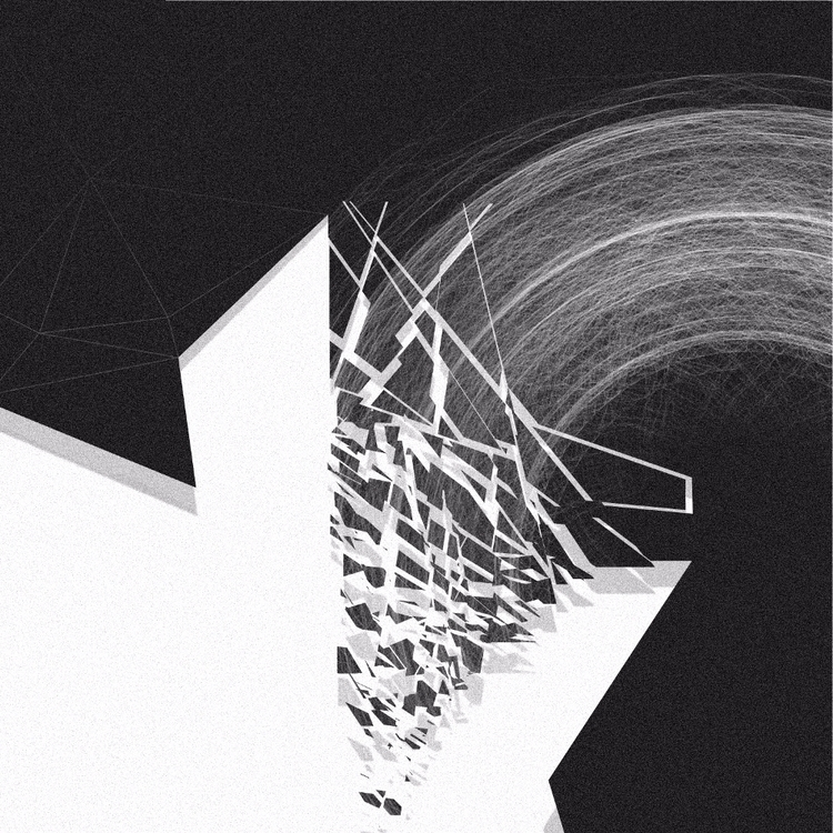 DracariA (2017 - abstract, bw, digital - hxwaraa | ello