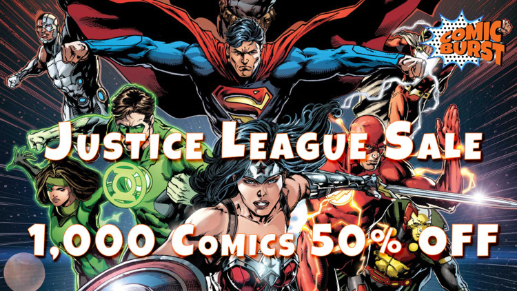 Justice League - 1,000 Comics S - comicburst | ello