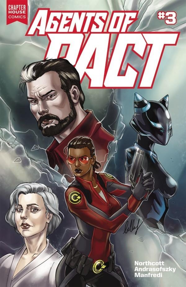 Agents PACT Chapterhouse Comics - oosteven | ello