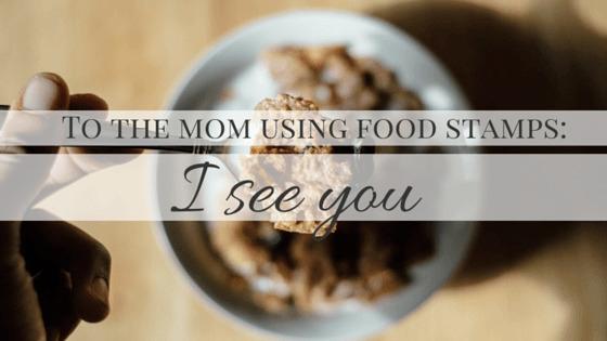 mom food stamps, fear eyes line - hudler | ello