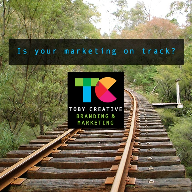 marketing track? Hitting target - tobycreative   ello