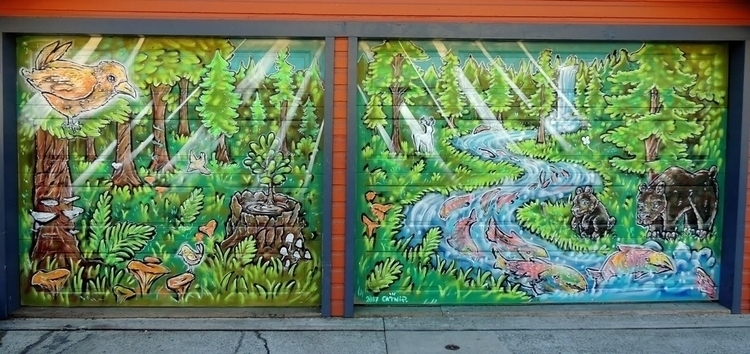 mural, streetart, arteverywhere - lookupcatnip | ello