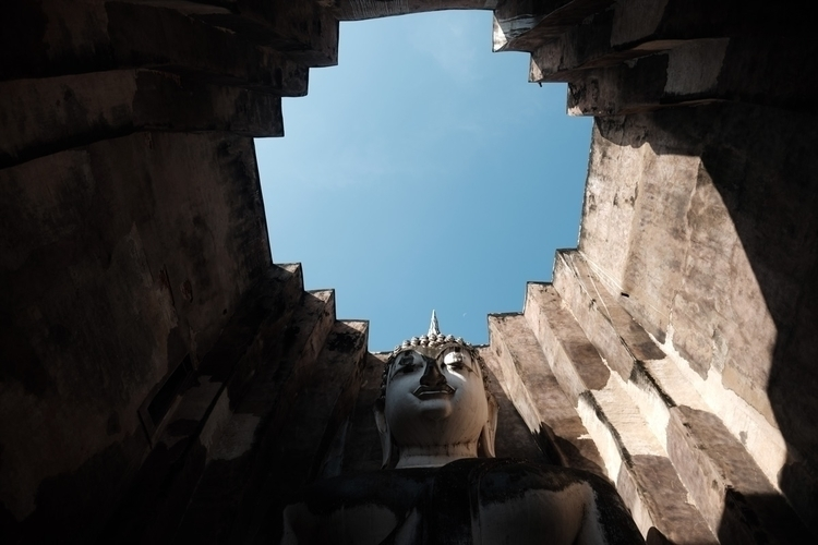 sukhothai, temple, Buddhism, thailand - miguelmanso | ello