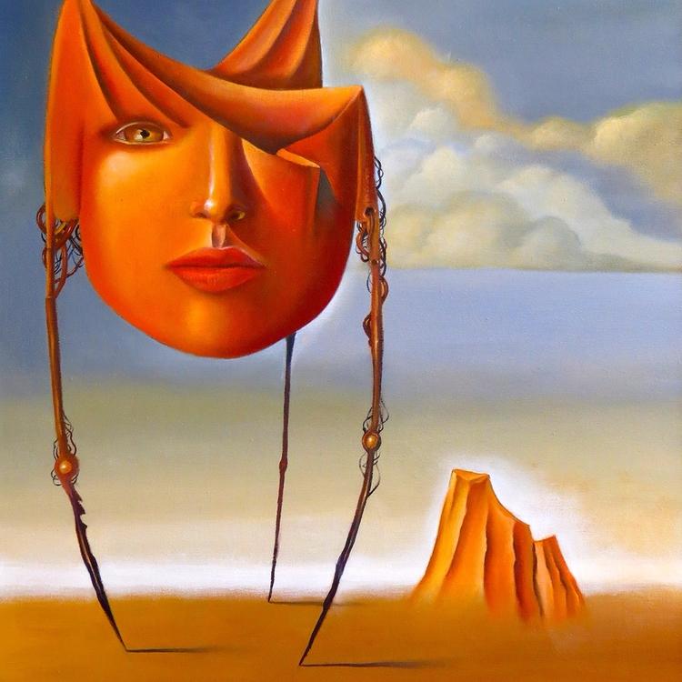 BEE DESTINY oil canvas Author R - rubencukier | ello