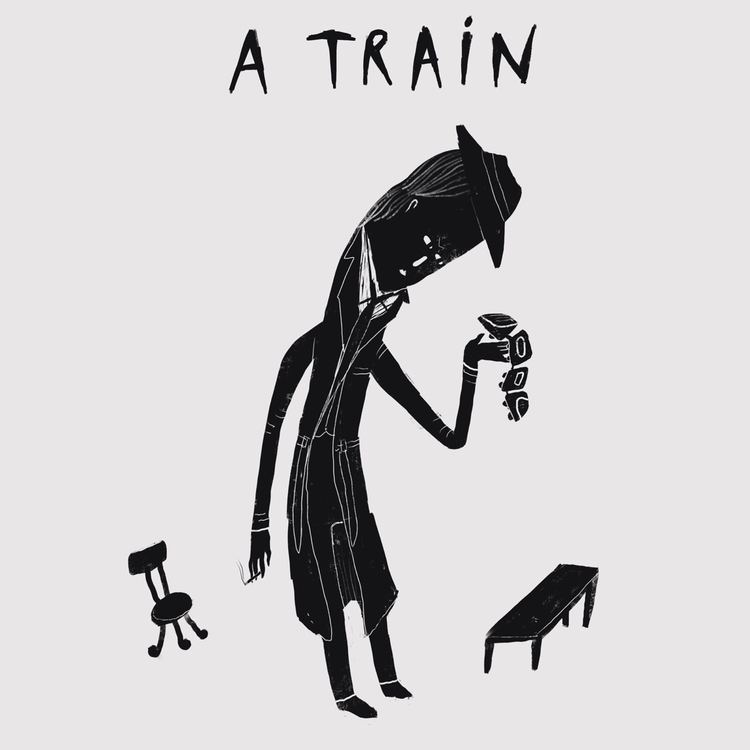 Deadly Trains - coming black wh - sleepydolphin | ello