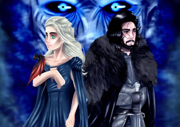 Ice Fire - Game Thrones - gameofthrones - sidilustra   ello