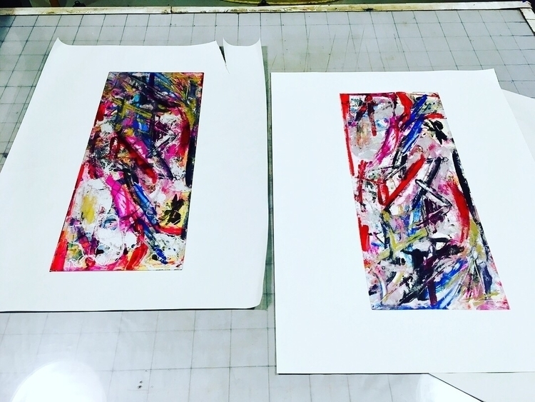 print, printmaking, abstract - elekz | ello