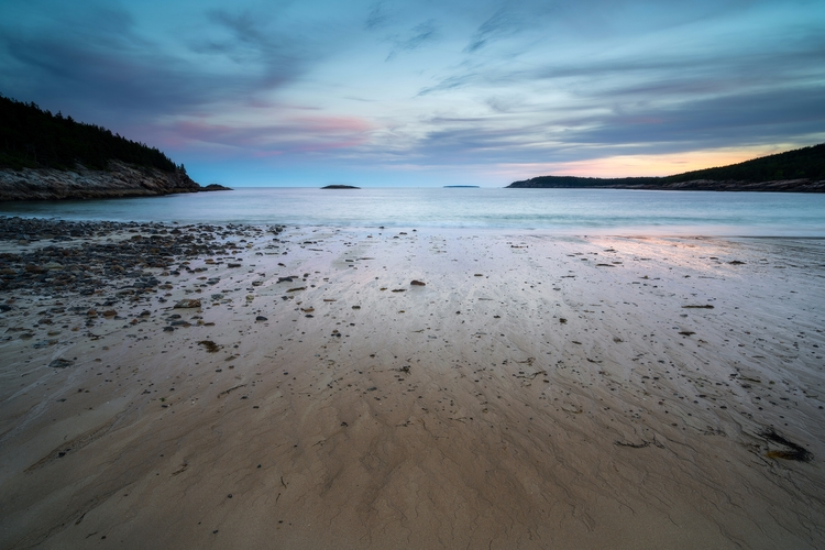 tide reveals textures - Acadia  - fadihage | ello