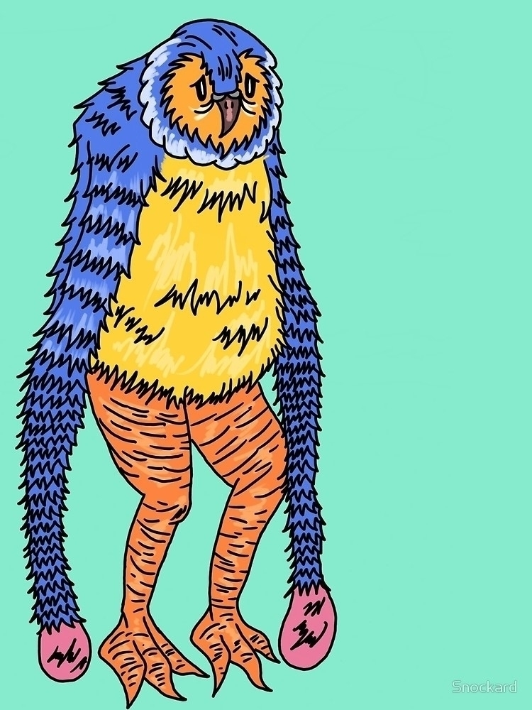 Lonely Beach Bird - Digital Dra - snockardchanning   ello