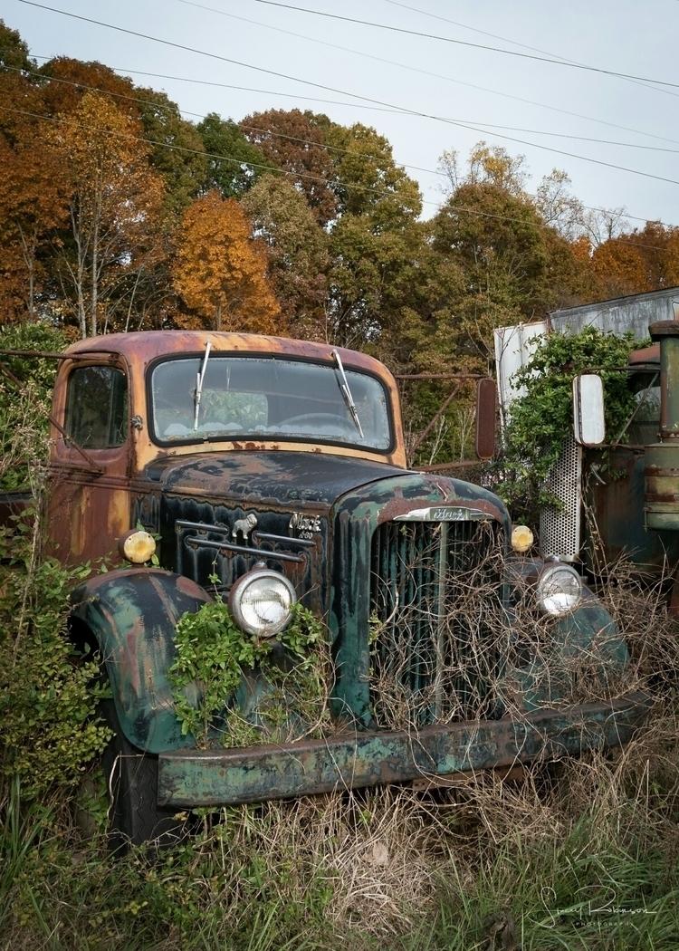November 2017. truck graveyard  - rifkind1969 | ello