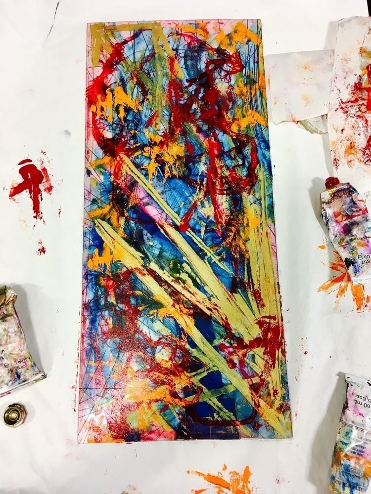 print, printmaking, abstract - elekz   ello