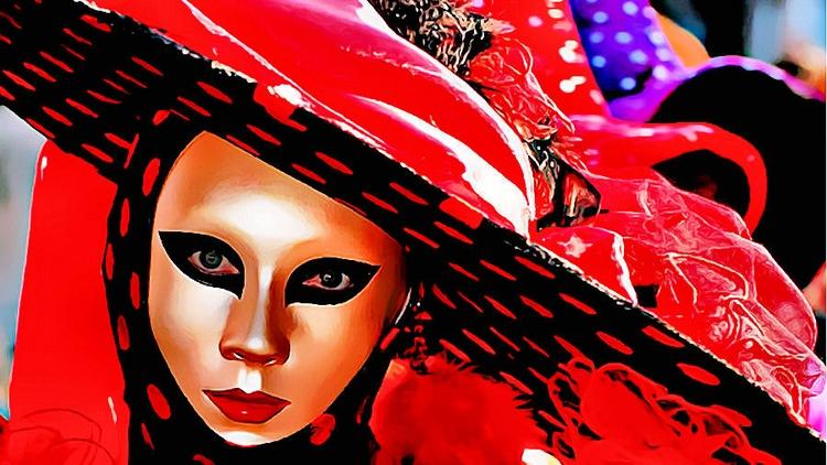 Venice carnival morphing GIF - drakre52 | ello