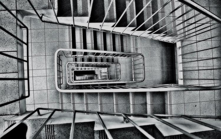downstairs - blackandwhitephotography - borisholtz | ello