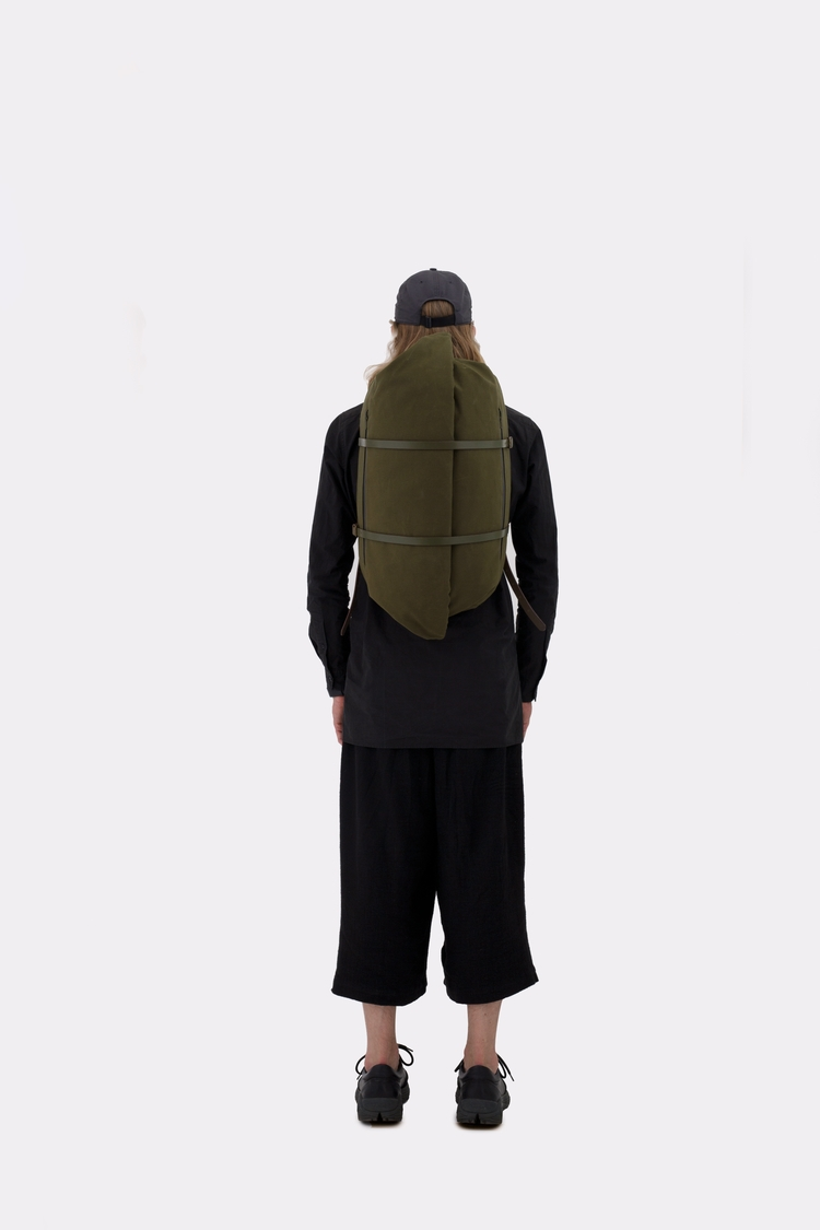 Cargo Backpack Army Green Free  - thisispaper | ello
