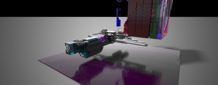 Voxel, Experiment, space - slowfour | ello