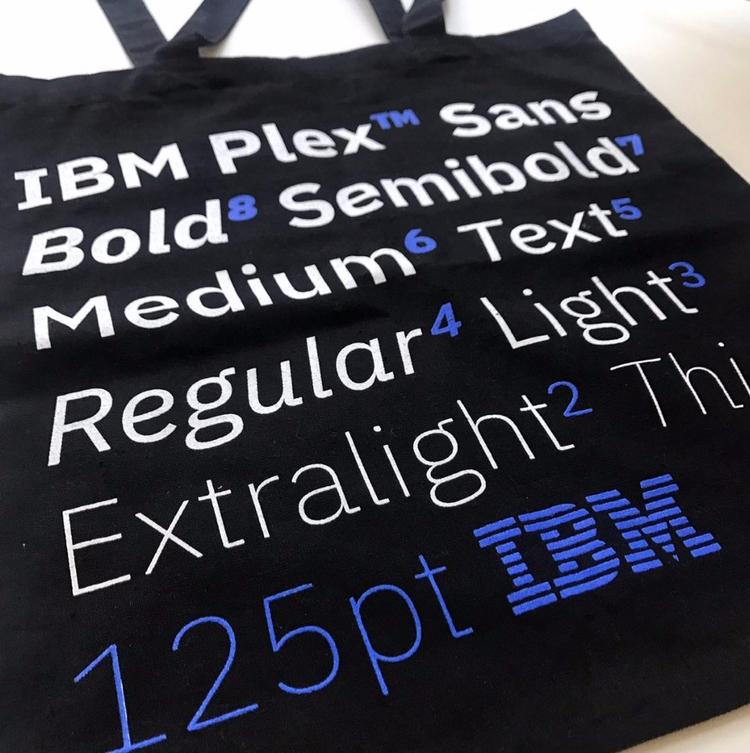 IBM Plex: Typeface Story - ibm, type - graphicdesign | ello