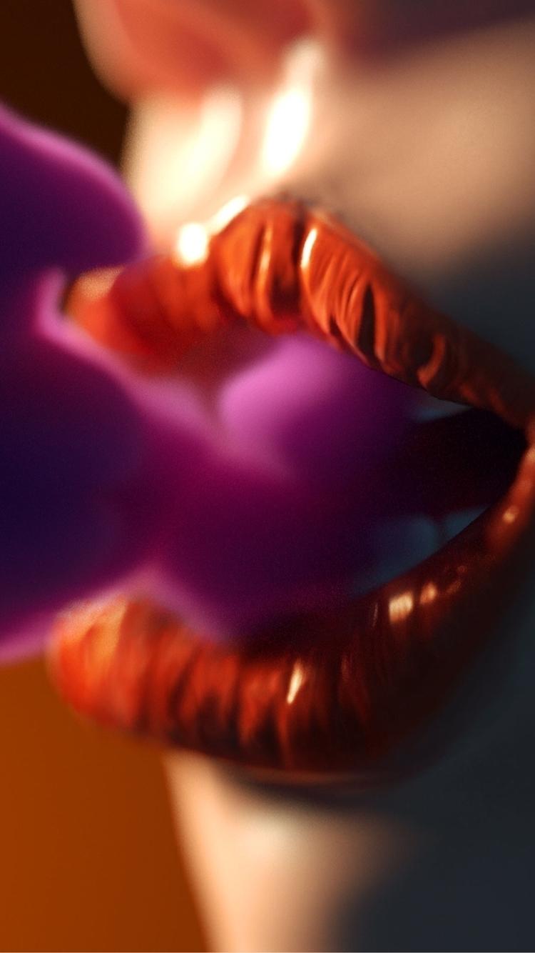 Lips smoke - carmelobarbera | ello