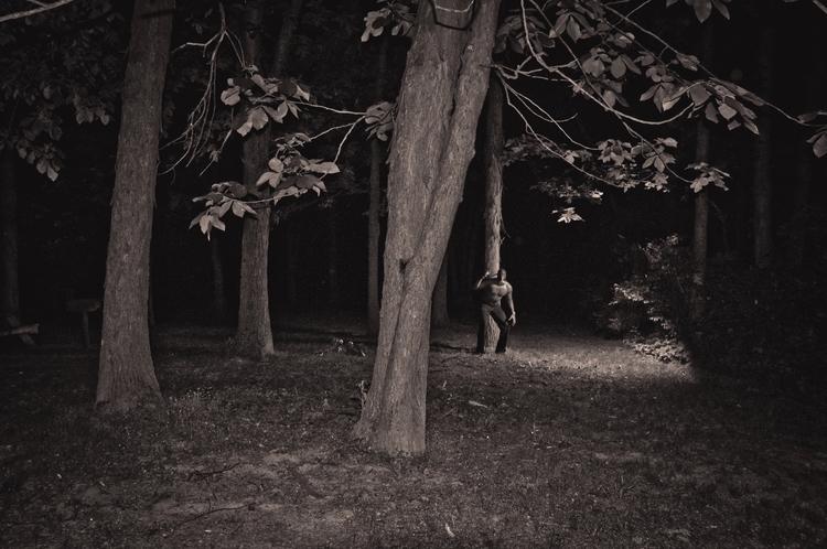 Cabin Woods Wait  - Selfportrait - ricardowilliams | ello