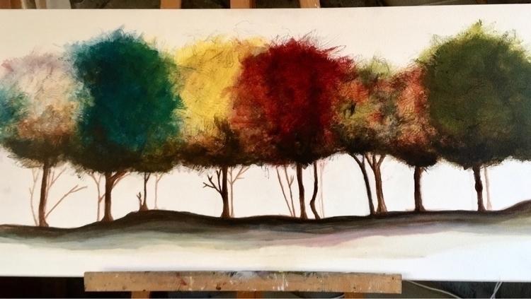 art#abstractart#treesart - fabiankarle | ello