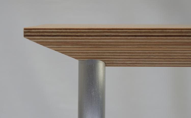 Bevel Bench detail. polished al - darkc_studio | ello