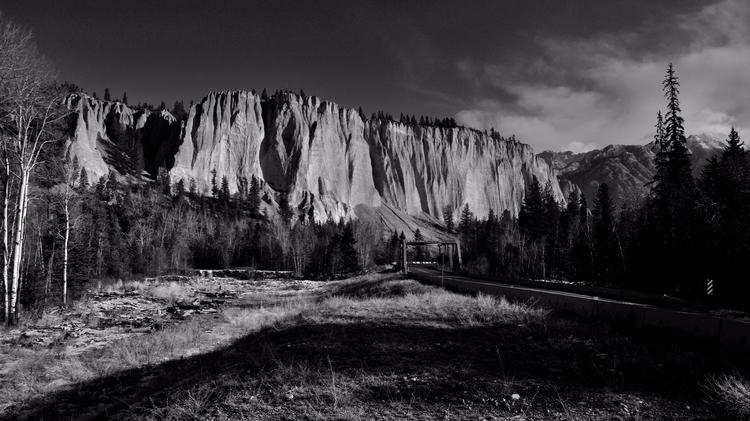Columbia Valley Hoodoos Novembe - camwmclean | ello