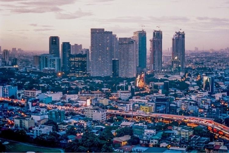 Manila, dusk. Long exposure fil - brianne-siegel | ello