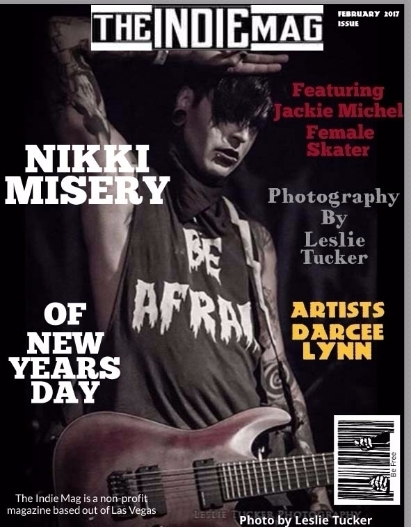 Nikki Misery cover issue Indie  - theindiemag | ello